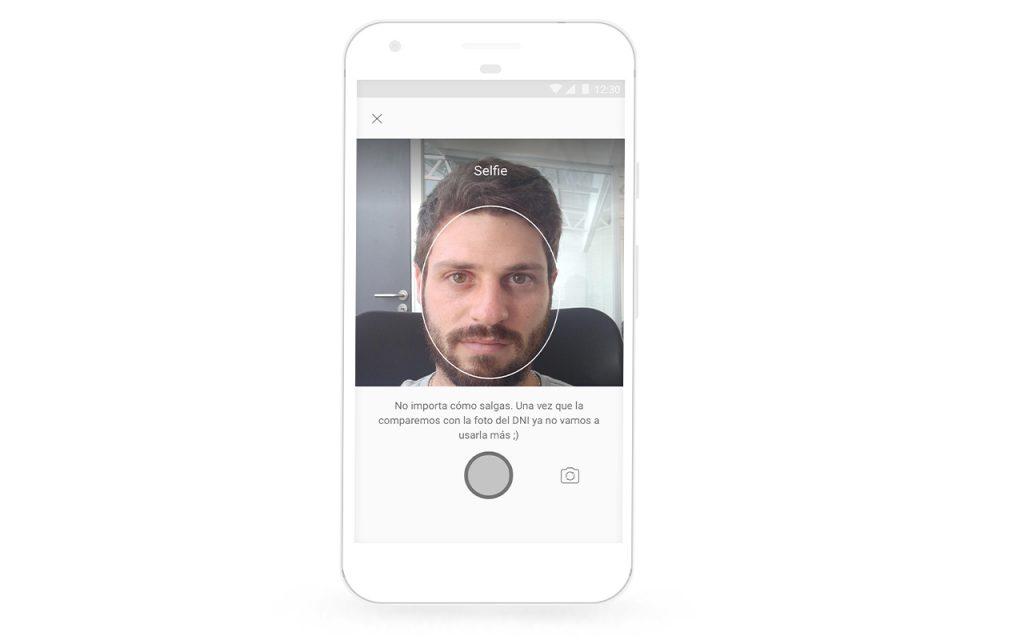 Sacate una Selfie para tu cuenta Ualá