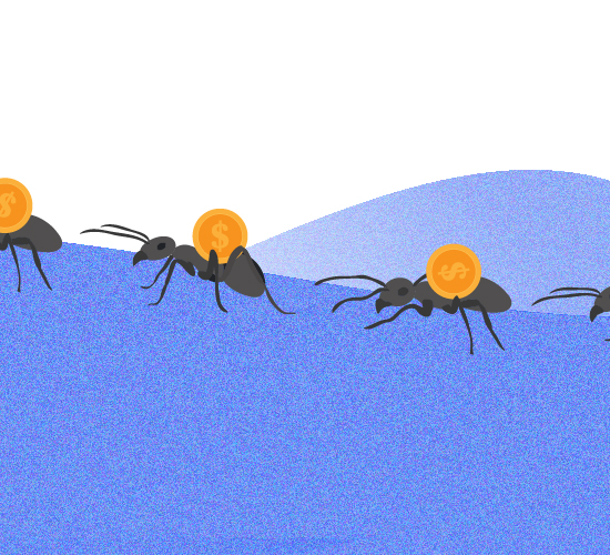 ¿Qué son los gastos hormiga y cómo prevenir esta plaga?