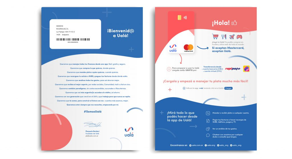 Lanzamos la primera tarjeta vertical de Argentina