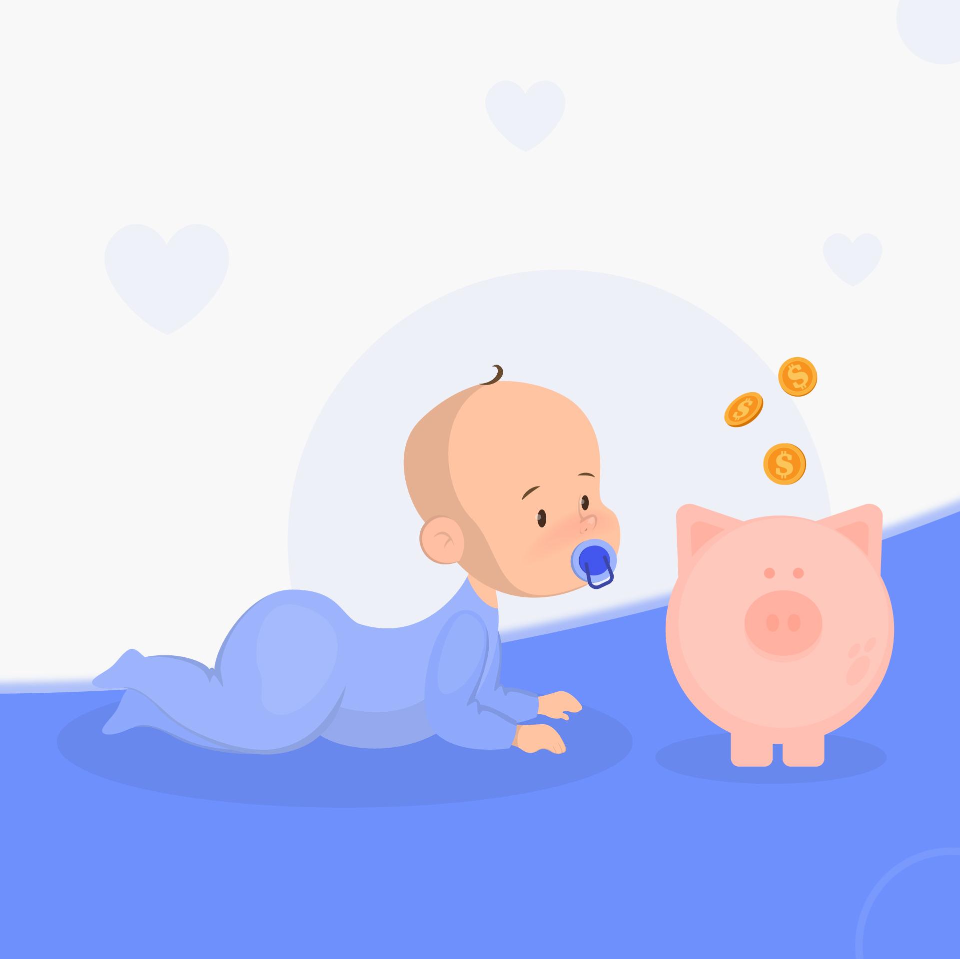 Cómo preparar tus finanzas para la llegada de un bebé